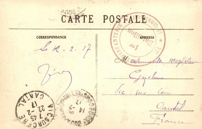 cp algérie fevrier 1917 (2)