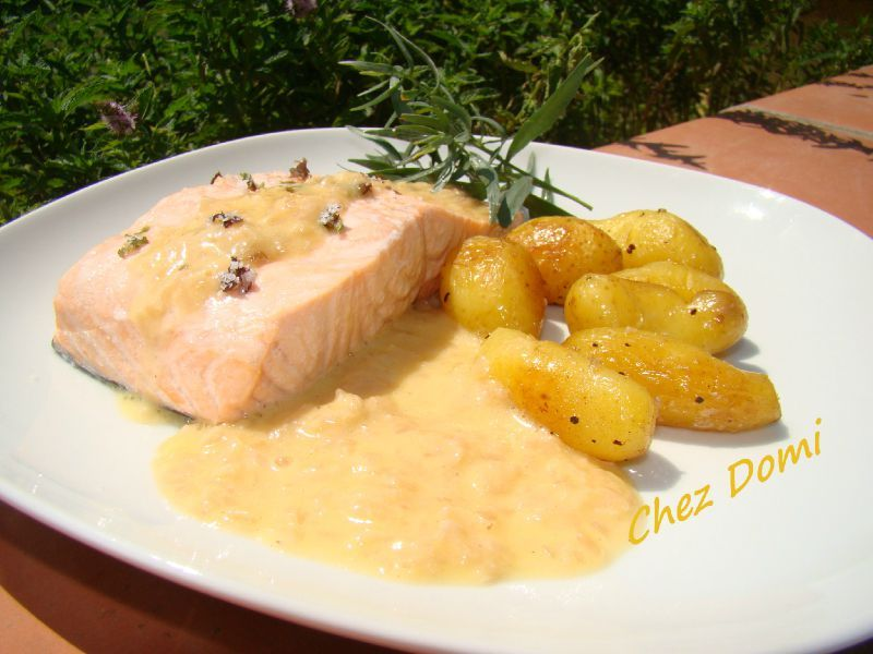 recette poisson sauce beurre blanc. Black Bedroom Furniture Sets. Home Design Ideas