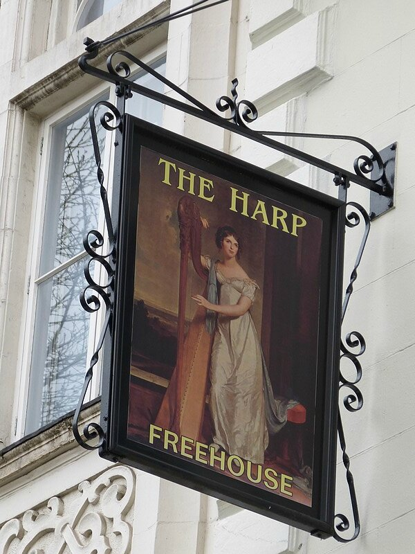 the harp support