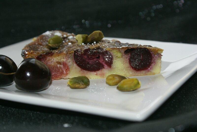 clafoutis pistaches cerises 3