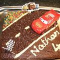 2008 Novembre - Gâteau Cars (Anniversaire Nathan / école)