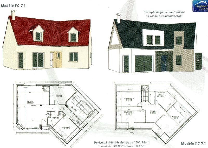 Plan Maison Avec Sous Sol Cool Plan Maison Sous Sol Rdc Etage With