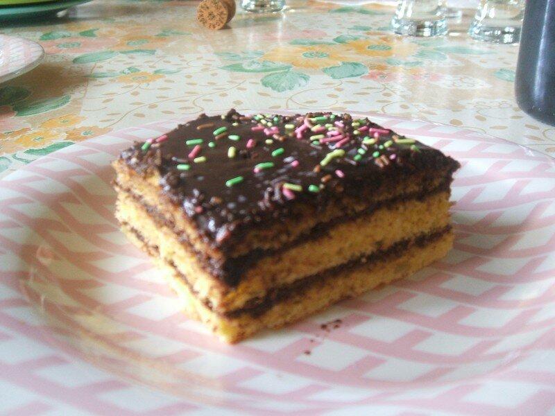 Le gateau d 39 anniversaire la cuisine de margot - Recette gateau d anniversaire original ...