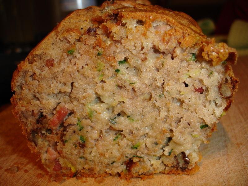 Cake Courgette Noix Roquefort