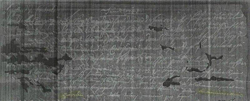 26 juin 1743 Marie Quevelec témoin naissance esclave