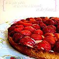 °pâte sablée, vanille & fraise°