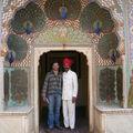 Jaïpur - City palace cour intérieur porte du printemps