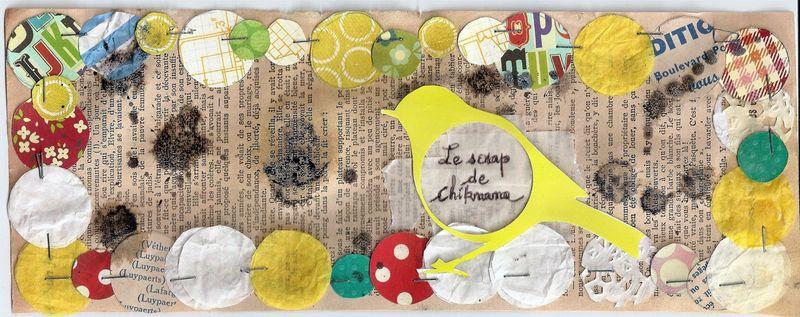 Chiknana sketch Mars 2011 des Poulettes