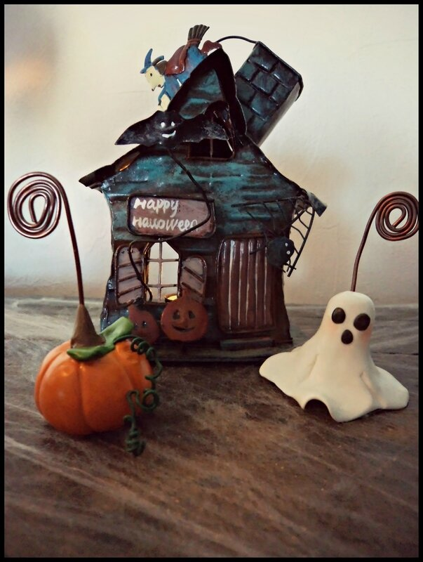 porte photo Halloween fimo 4