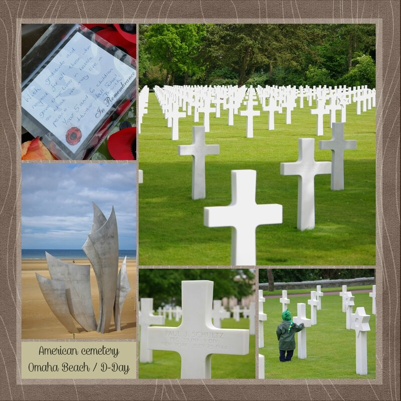 Omaha Beach American Cemetery D Day hunter hall school