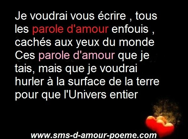 Paroles d♥amour