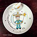 Porcelaine peinte à la main