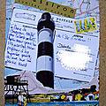 Mail art - challenge carnet de voyage
