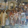 Benoît reçoit les jeunes romains Mauro et Placide