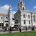 Lisbonne / lisboa. agosto 2014. quartier de belém