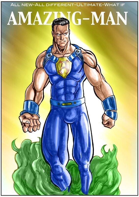 Ultimate costume Amazing-Man