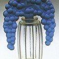 Flacon - Au Bouchon cassis bleu