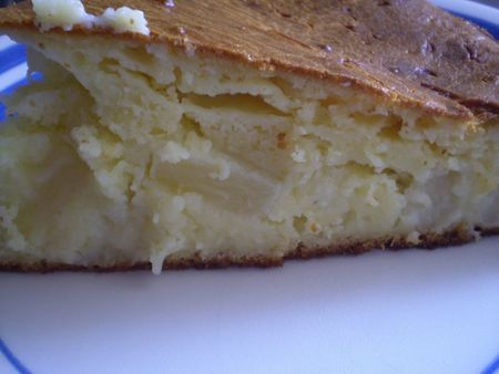 Moelleux ananas -mascarpone