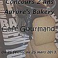 Café gourmand autour du chocolat et du speculoos