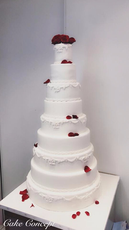 Wedding Cake 9 etages