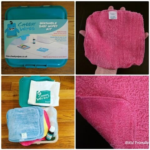Lingettes Cheeky Wipes chez Ecoterre ©Kid Friendly