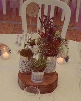 D corations mariage boh me mille et une choses cr er - Deco avec boite de conserve pour mariage ...