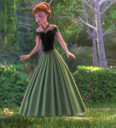 Anna la reine des neiges rainbow disneybound - Anna la reine des neige ...