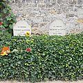 Auvers-sur-Oise - cimetière - tombe Vincent et Theo