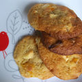 Cookies abricots chocolat blanc