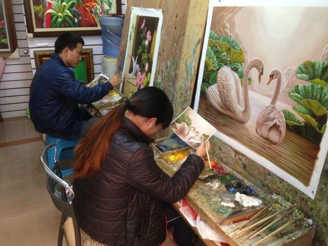 Dafen artistes