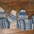 Chaussettes Opal à la machine - variantes