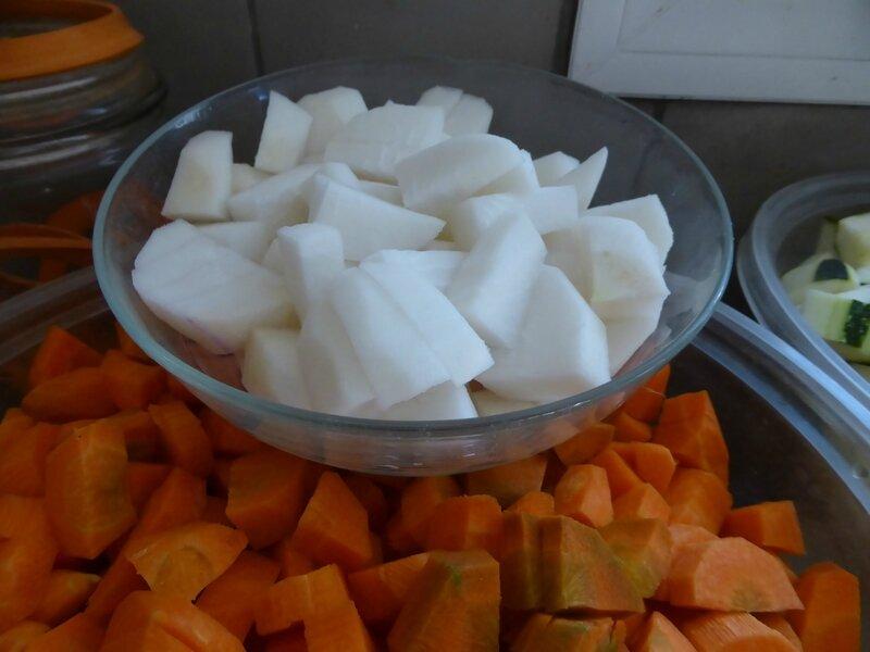 2-couscous, carottes, navets