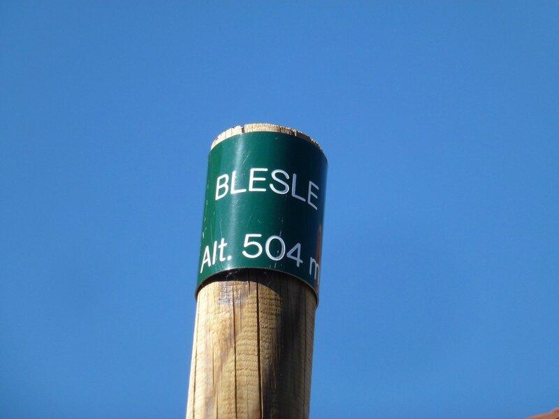 BESLE - Auvergne haute Loire - alt 504 -