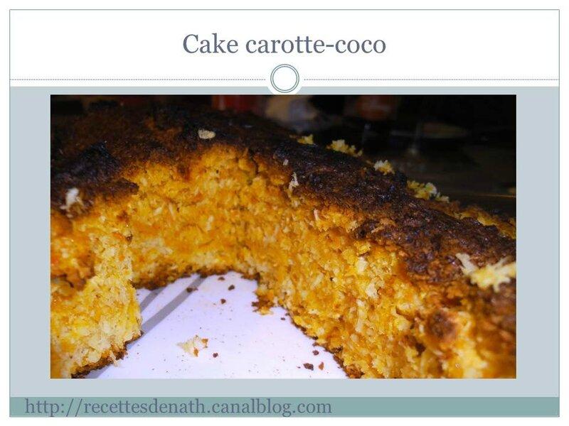 Diapositive245 cake carottes