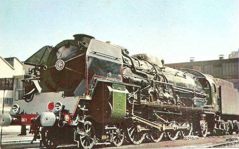 CPM Loco 241P La Vie du Rail