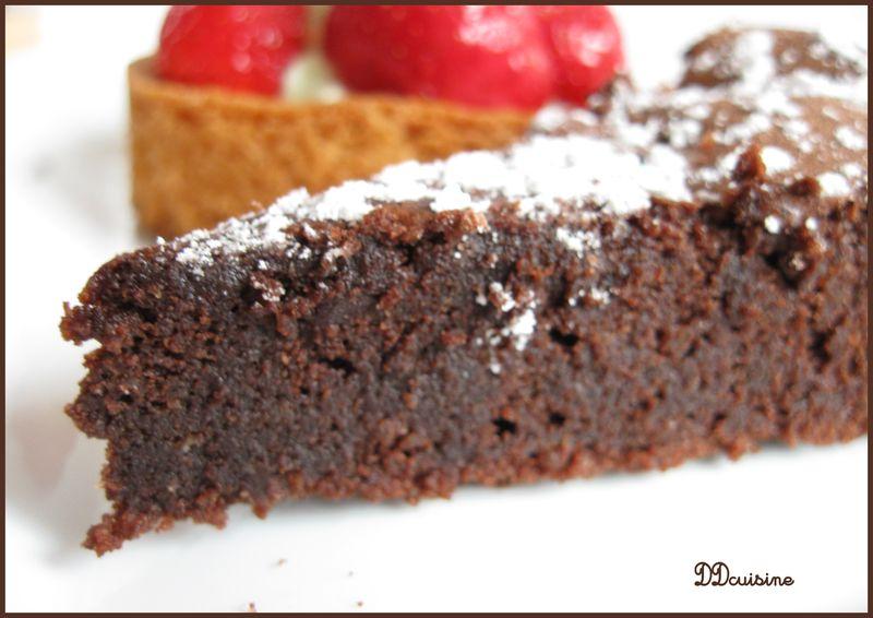 Recette gateau sans farine au chocolat arts culinaires magiques - Gateau au chocolat sans farine ...