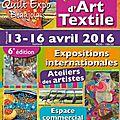 Quilt en beaujolais édition 2016