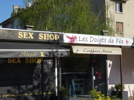 Sex shop coiffeur