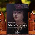 Chronique de mon roman historique sur maria deraismes