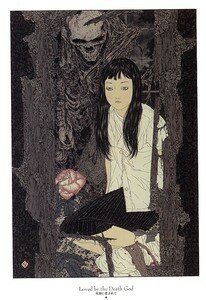 Artbook Takato Yamamoto Divertimento ukiyoe ukiyo-e sm manga 007