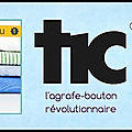 Agrafe bouton tic : attache bouton sans fil - zlideon - + video demonstration