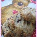 Cookies au beurre de cacahuètes et pépites choco