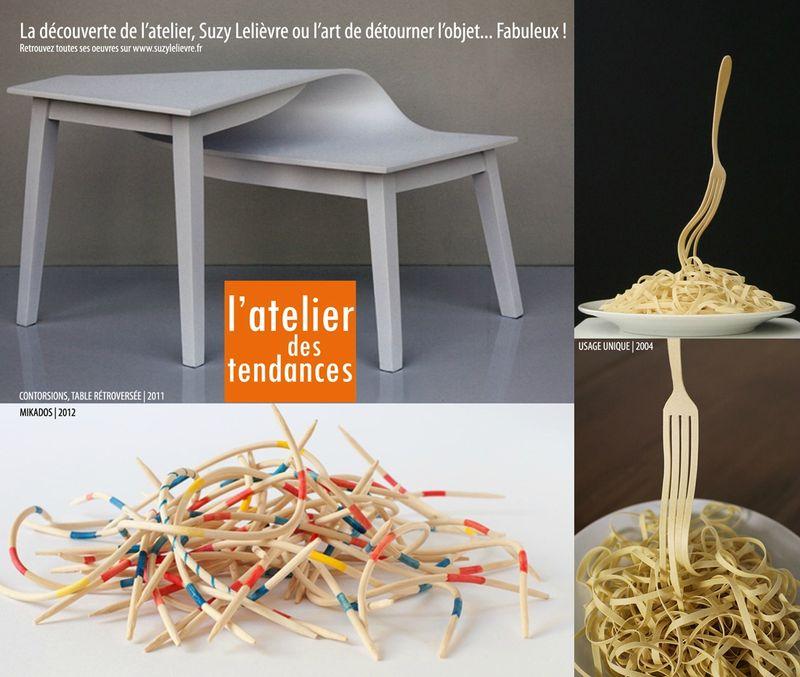 Suzy leli vre ou l 39 art de d tourner les objets l 39 atelier des tenda - Detourner les objets ...