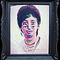 Série Portraits Décalés (Acid head people) - Sonia