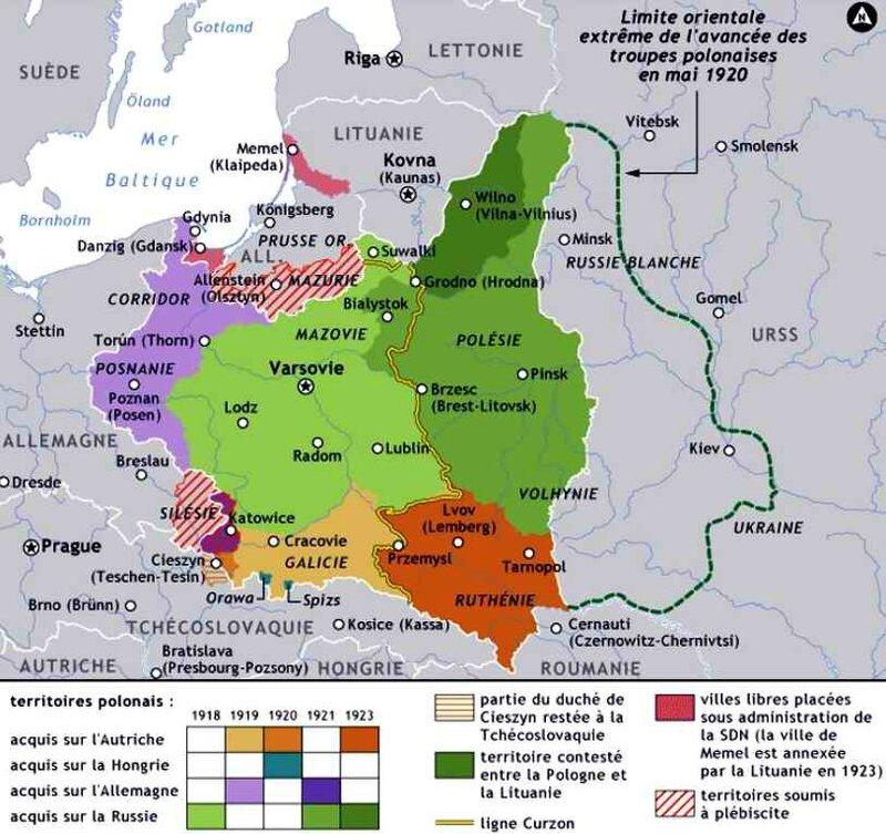 Pologne 1923