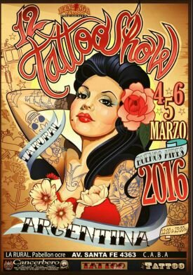 Buenos Aires 12 Tattoo Show actions 04-06 Mars 2016