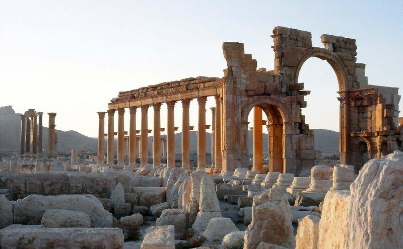 Palmyre, antique cité de la Reine Zénobie