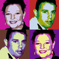 Quatro Pop'art, nuanciers ECGD