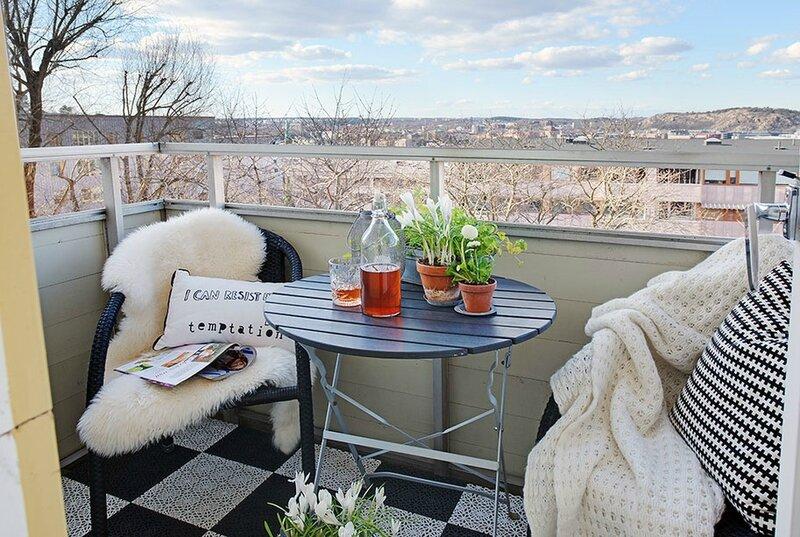 Balkon-Scandinavisch