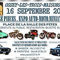 Réservez votre journée du 16 septembre 2012